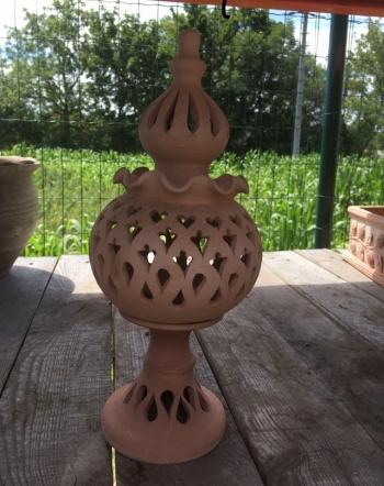 Svietnik piccolo terracotta