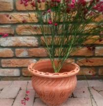 Amfora kvetináč (tehlový)