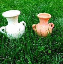 Amfora picollo váza bledá